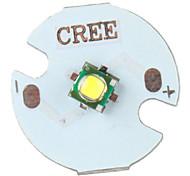 diy cree 5w 356lm 2800-3200K warmes weißes Licht LED-Strahler mit Aluminium Basis (3,2-3.6V)