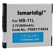 Ismartdigi Replacement Battery NB-11L for Canon ELPH 110 HS (IXUS 125 HS) Canon IXY420F