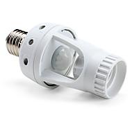 e27 enchufe de 360 grados sensor infrarrojo LED ajustable soporte de la lámpara