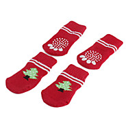 Dog Socks & Boots Red Shoes Spring/Fall Holiday / Christmas