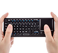 Mini Bluetooth Wireless QWERTY Keyborad with Mouse Touchpad + IR Remote