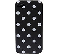 Polka Dots Pattern Hard Case for iPhone 4 and 4S (Assorted Colors)