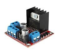 L298N двойного ч мост постоянного тока шагового двигателя привода модуль контроллера плата для (для Arduino)