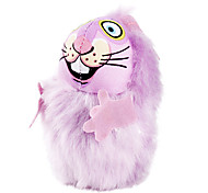 Cat Toy Pet Toys Catnip Mouse Bamboo Purple Green Pink