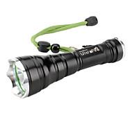 ultrafire 5 modos del CREE XM-L T6 llevó la linterna (1000lm, 1x18650)