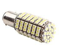 1157 SMD 4.2W 126x3528 6500-7000K Blub Lumière LED blanche pour Lampes de voiture (12V DC)