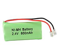 Ni-MH AAA batteria (2.4V, 800 mAh)