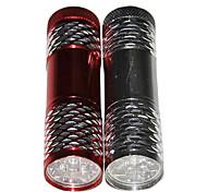 Household LED Stainless Steel Portable Flashlight