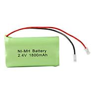 Ni-MH AA pilas (2,4 V, 1800 mAh)
