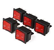 4-Pin Tuimel met Red Light Indicator (5-delig pak)