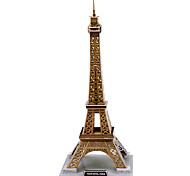 DIY Architecture 3D Puzzle Eiffel Tower (35pcs, difficulty 4 of 5)