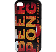 Beer Pong Pattern Hard Case for iPhone 4 and 4S