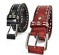 Fashion Casual Rope Decorated Wide Leather Belt(115*3.8*0.3cm)