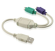 USB to PS2 Cable (0.3 m)