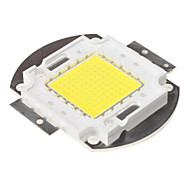 DIY 100W 8000-6000-6500K 9000LM Natural White Light integrado módulo de LED (33-35V)