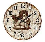 Country Angel Wall Clock