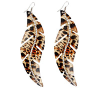Leopard Painting Streamline Earrings