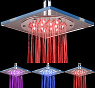 8-12-polegadas LED Shower Head Acrílico Teto (cores sortidas)