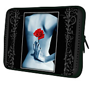 """Red Rose 7"""" 10"""" Protective Sleeve Case for P3100/P6800/P5100/N8000/Microsoft Surface"""