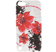 Motif Flower Soft TPU pour 5 iPod Touch