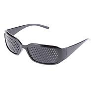 Eyesight Vision Improve Plastic Frame Pinhole Glasses