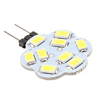 4W G4 LED Bi-pin Lights 9 SMD 5630 430 lm Natural White DC 12 V