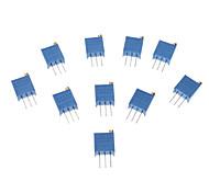 3296 Potenziometro 3-Pin Resistenze 10Kohm regolabili (10 PCS, blu)