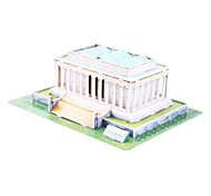41 Pieces DIY Architecture 3D Puzzle U.S.A Lincoln Memorial (difficulty 4 of 5)