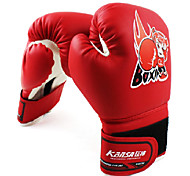 Children's PU Boxing Free Combat Gloves Assorted Colors (Average Size)