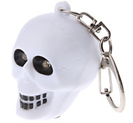 Skull Keychain with Sound and Light Effect