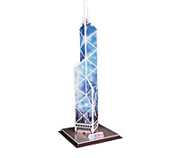 14 Pieces DIY Architecture 3D Puzzle Hong Kong Bank of China Tower (difficulty 4 of 5)