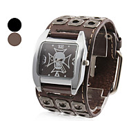 Men's Watch Military Square Skull Dial