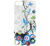 Flower Pattern Soft TPU Case for iPod Touch 5