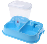 Pet Food and Water Feeder Bowl for Dogs, Cats (Assorted Color)
