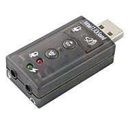 USB to Audio Crystal Blue Sound Card