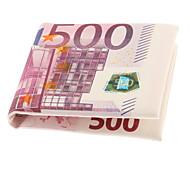 Creative 500 Euro Bill Style Wallet