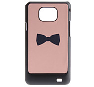 Flash Design bowknot Pattern Hard Case für Samsung Galaxy S2 I9100