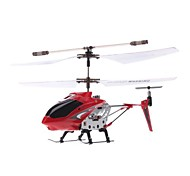 Palm Size 3.5-Channel Gyro Remote Control Helicopter with Light (Assorted Colors)