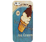 Ice Cream Pattern Hard Case for iPhone 5/5S