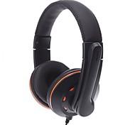 Ovleng Q5 Super Bass Stereo USB 2.0 Fone de ouvido com microfone para jogos e Skype