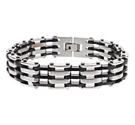 Tractor Shain Style Stainless Steel Bracelet