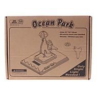DIY Solar Power Assembléia Self Energy madeira Ocean Park Dolphin Kit