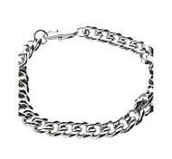 Lock Type Stainless Steel Bracelet for Man