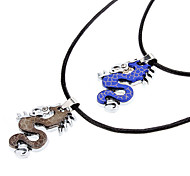 Z&X®  Chinese Dragon Couple Necklace