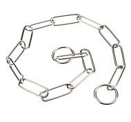 Hunde Halsbänder Silber Edelstahl