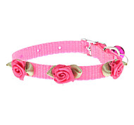 Tiny Nylon Flower Collar for Dogs (Assorted Color)