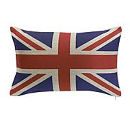 England Cotton Decorative Pillow Cover