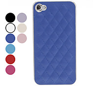 Lattice Design Case Duro para iPhone 4/4S (colores surtidos)