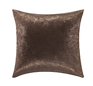 Stylish Floral Polyester Decorative Pillow With Insert