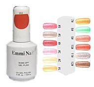 UV Color Gel Lovely Nail Art Nail Polish (15ml,1 Bottle)
